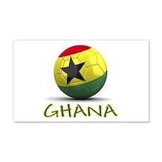 Team Ghana 22x14 Wall Peel