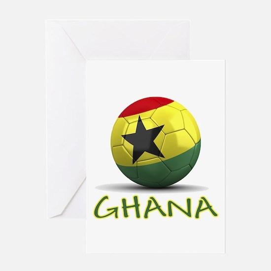 Team Ghana Greeting Card