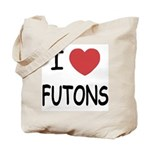 I heart futons Tote Bag