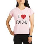 I heart futons Performance Dry T-Shirt