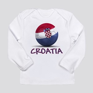 Team Croatia Long Sleeve Infant T-Shirt