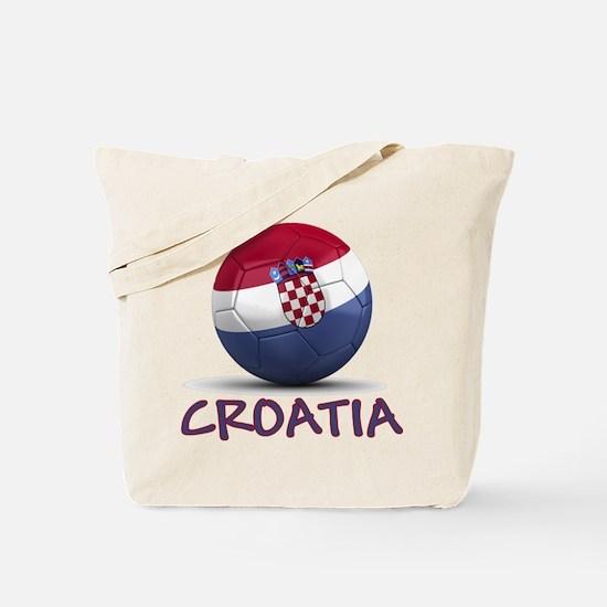 Team Croatia Tote Bag
