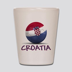 Team Croatia Shot Glass