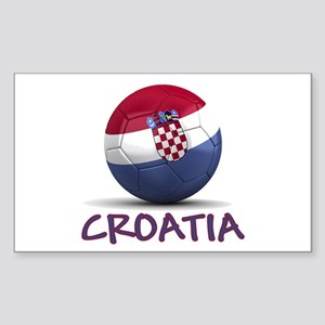 Team Croatia Sticker (Rectangle)