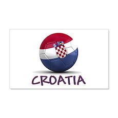 Team Croatia 22x14 Wall Peel