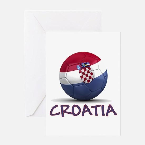 Team Croatia Greeting Card