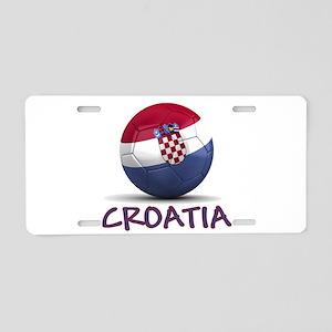 Team Croatia Aluminum License Plate