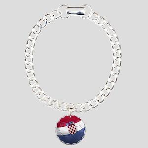Team Croatia Charm Bracelet, One Charm
