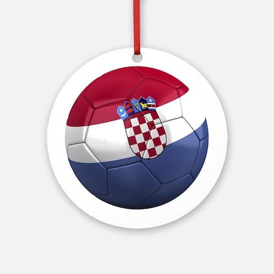 Team Croatia Ornament (Round)