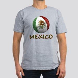 Team Mexico Men's Fitted T-Shirt (dark)