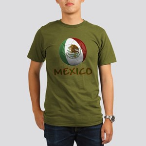 Team Mexico Organic Men's T-Shirt (dark)