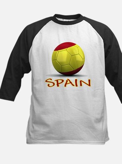 Team Spain Kids Baseball Jersey