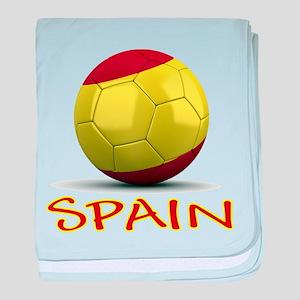 Team Spain baby blanket