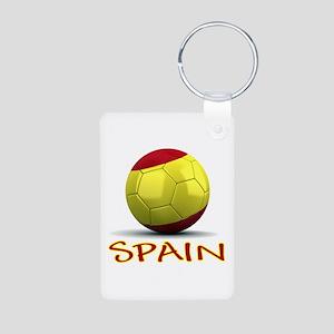 Team Spain Aluminum Photo Keychain