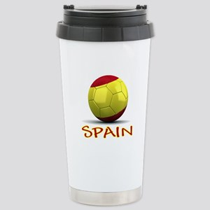 Team Spain Stainless Steel Travel Mug