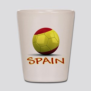 Team Spain Shot Glass