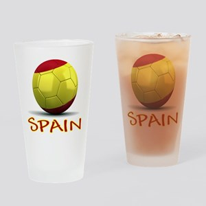 Team Spain Drinking Glass