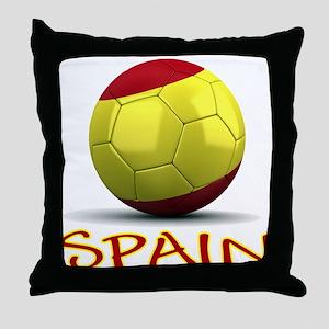 Team Spain Throw Pillow