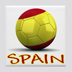 Team Spain Tile Coaster