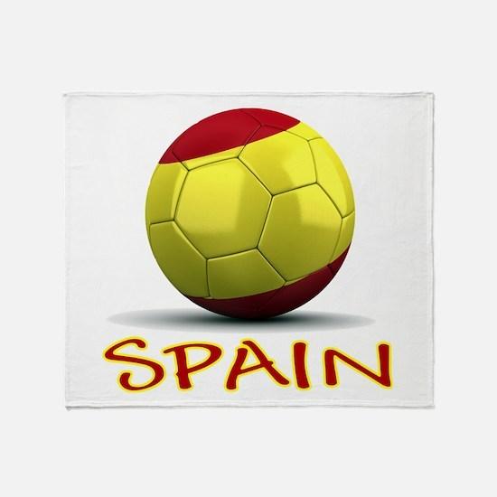 Team Spain Throw Blanket