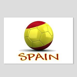 Team Spain Postcards (Package of 8)