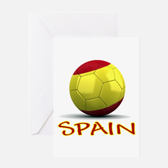 Team Spain Greeting Card