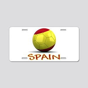 Team Spain Aluminum License Plate