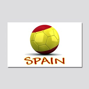 Team Spain Car Magnet 20 x 12