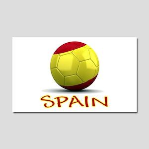 Team Spain Car Magnet 20 x 12