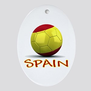 Team Spain Ornament (Oval)