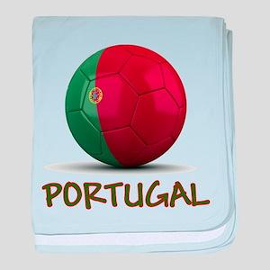 Team Portugal baby blanket