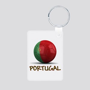 Team Portugal Aluminum Photo Keychain