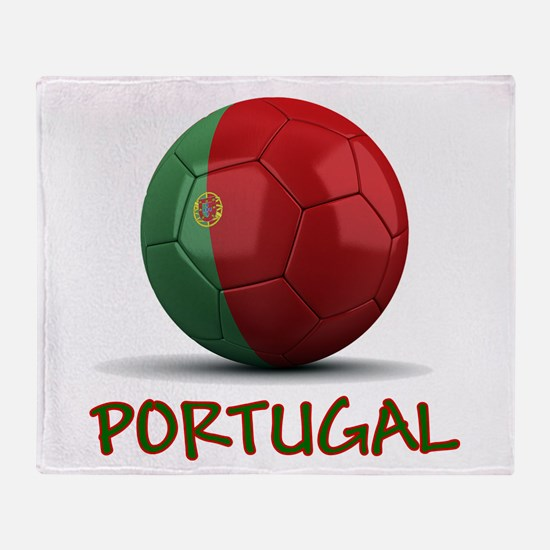 Team Portugal Throw Blanket