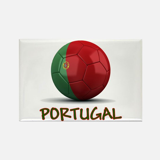 Team Portugal Rectangle Magnet (100 pack)