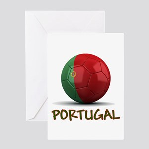 Team Portugal Greeting Card