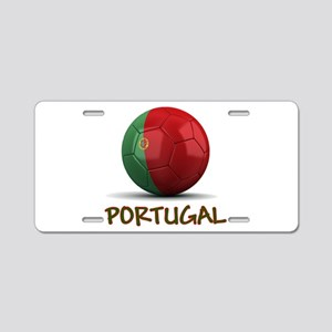 Team Portugal Aluminum License Plate