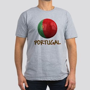 Team Portugal Men's Fitted T-Shirt (dark)