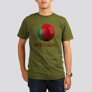 Team Portugal Organic Men's T-Shirt (dark)