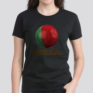 Team Portugal Women's Dark T-Shirt