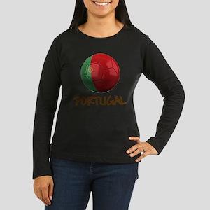 Team Portugal Women's Long Sleeve Dark T-Shirt