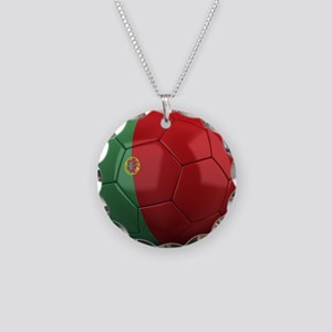 Team Portugal Necklace Circle Charm