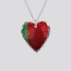 Team Portugal Necklace Heart Charm