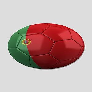 Team Portugal 22x14 Oval Wall Peel