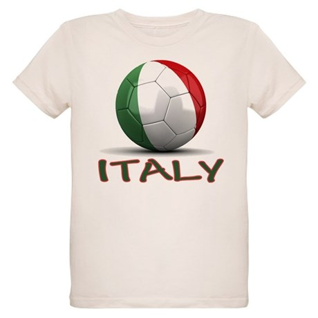Team Italy Organic Kids T-Shirt