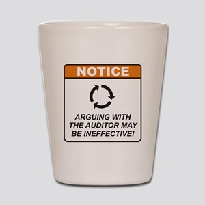 Auditor / Argue Shot Glass