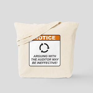 Auditor / Argue Tote Bag
