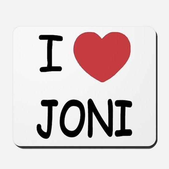 I heart joni Mousepad