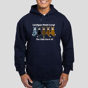 Wagging Cardigans Hoodie (dark)