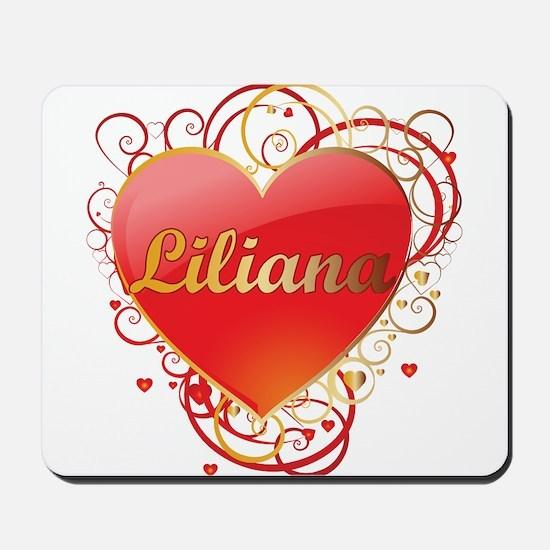 Liliana Valentines Mousepad