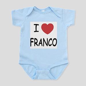 I heart franco Infant Bodysuit